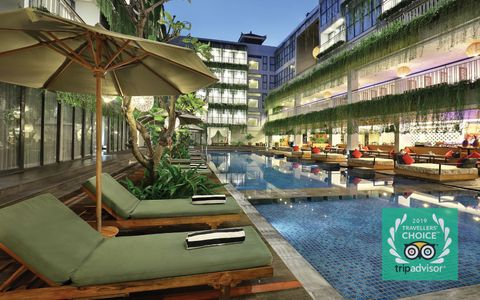 HOTEL NEO+ KUTA LEGIAN LISTED AS TRIPADVISOR TRAVELERS CHOICE AWARD