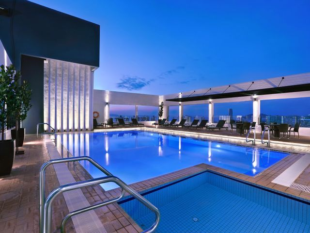 Hotel neo penang facilities and services for Swimming pool service software